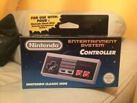 Brand New Nintendo Classic Mini: Nintendo Entertainment System (NES) Controller / Pad