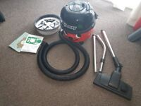 Henry Numatic Hoover nearly new