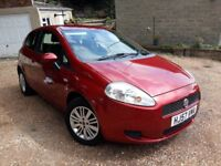 Fiat Grande Punto 2008, up to date service history, only £30 Road Tax. MOT end of Feb next year