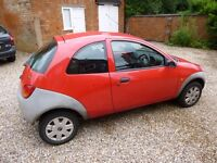 Ford KA 2005, 50k miles, Good condition, Ideal 1st car! UNDER OFFER!!