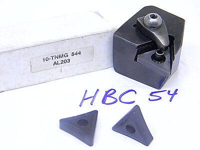 Used Valenite Vari-set Carbide Insert Cartridge Hbc-54 W10pcs. Carbide Inserts