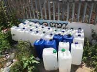 25 litres plastic drum