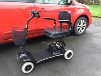 Little star fold flat lightweight mobility scooter can deliver for fuel