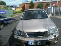 Honda Crv 1999 model in very good condition drives well and clean no mot ideal for export