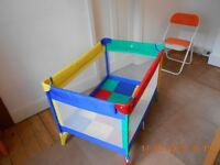 Travel Cot from Graco in excellent condition
