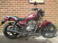 ZONTES 125 2015 plate spares or repairs project