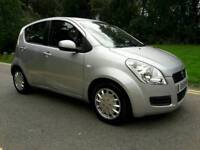 SUZUKI SPLASH 1.0 GLS 2009 1 OWNER FROM NEW 58K.TEL 07377926604