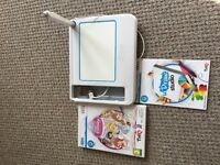 Wii udraw game tablet and Disney princess udraw game
