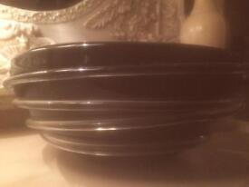 Laurence Bowen decorative black bowl
