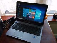HP PROBOOK 650 G1 (500GB, Intel i5, 3.1GHz Turbo Boost, 4GB)