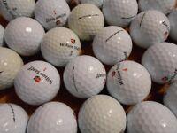 40 Wilson Staff Golf Balls. Various types incl. many DX2 Soft. Grade A / Pearl Grade.