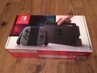 Nintendo Switch Matt Black, brand new, unused