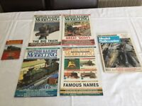 Railway magazines dating back to 1988