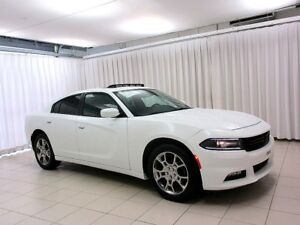 2016 Dodge Charger SXT AWD SEDAN w/ SUNROOF, NAV SYSTEM, ALLOY W
