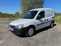VAUXHALL COMBO VAN 1.7 DIESEL 2011 SUPERB CONDITION LONG MOT SIDE LOADER ANY TRIAL MOST WELCOME
