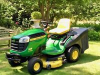 "John Deere X155R Ride On Mower - 42"" Deck - Lawnmower - Countax/ Kubota /"