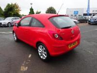 Vauxhall Corsa EXCITE ECOFLEX (red) 2014-08-28