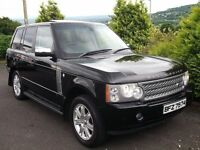 07 RANGE ROVER 3.6 TDV8 VOGUE TV SAT NAV SUNROOF BREMBOS!! NOT BMW X5 ML Q7 S320 73OD 530D M3 M5