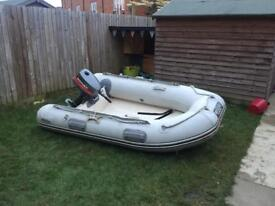 Inflatable rib Wetline 265 and 4hP