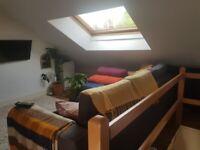 2 Bright Attic Rooms to Rent Hebden Bridge