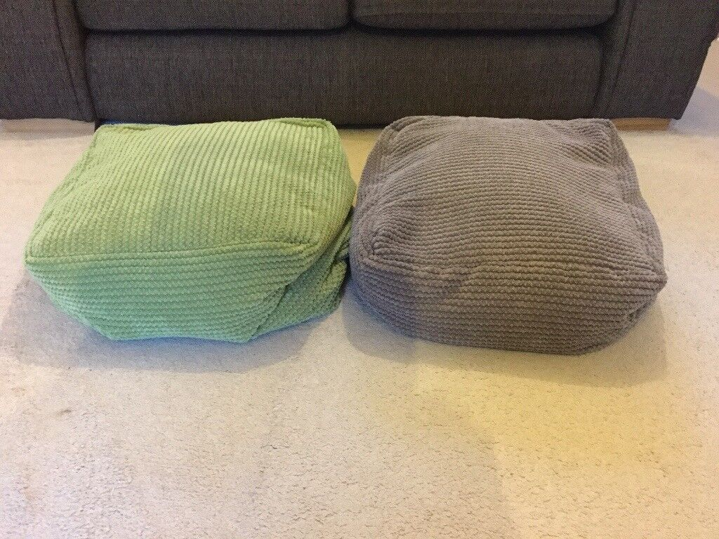 Green And Mocha Bean Bags For Sale In Norwich Norfolk