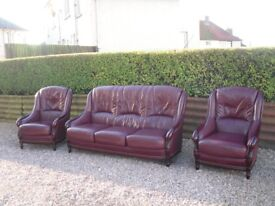 LEATHER SUITE VERY GOOD CONDITION