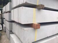 🛎Plain Concrete Fencing Base Panels * New Posts