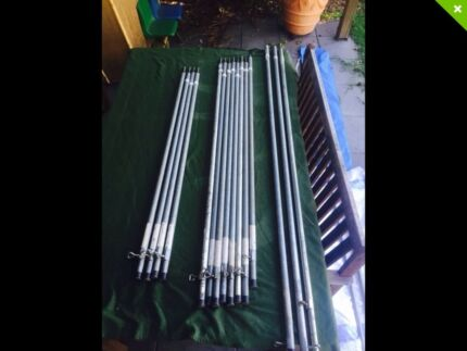 Camping poles, spreader bars, ropes, foam mats, grill plate, gazebo Rocklea Brisbane South West Preview