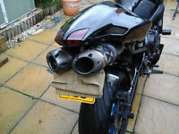 Custom special fz6 s2 streetfighter,low miles