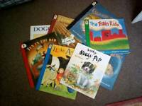 Big story books suit child minder nursery x11