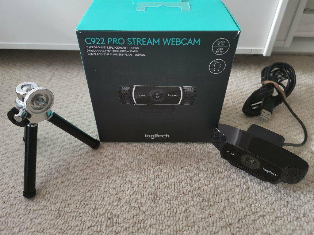 *Logitech C922 Pro Stream Webcam (Top Twitch/Mixer Gaming Webcam) 1080p  30FPS* | in Milton Keynes, Buckinghamshire | Gumtree
