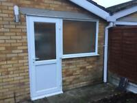 Upvc door and window. Only 1.5 years old