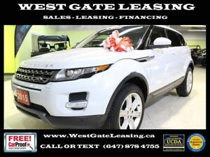 2015 Land Rover Range Rover Evoque PANORAMIC ROOF   CAMERA   WAR