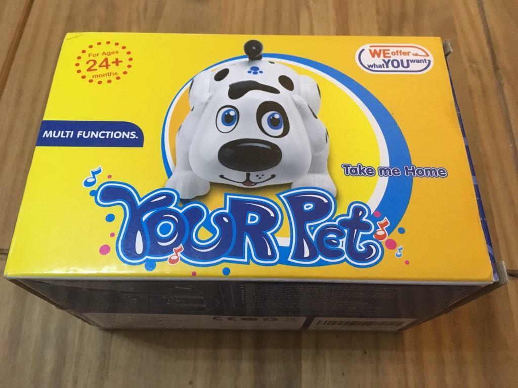 Your pet - multi functional toy dog - new