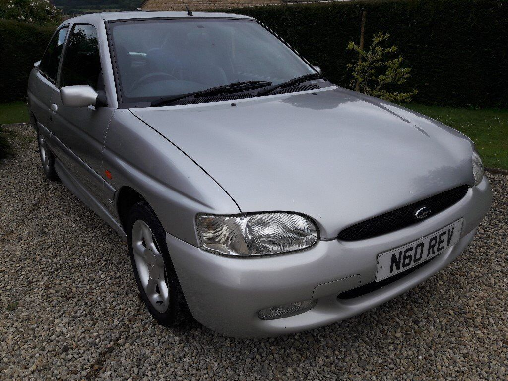 1998 ford escort 1 8 gti 3dr moondust silver only 58k loads of service