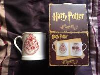 Harry Potter mugs.