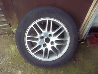 Ford Focus Alloy Wheel With Tyre