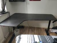 IKEA Bekant Corner Desk Black