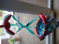 BRIGHT SPARKS BABY DOORWAY BOUNCER