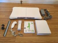 Wii CONSOLE COMPLETE with Wii FIT & BOARD £30 no offers IN FULL WORKING ORDER
