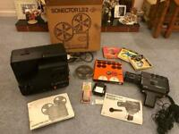 For sale super 8 camera and projector