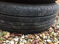 VW Transporter Steel Wheels with Tyres