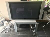 "PHILIPS 42"" Plasma Screen TV with TV Stand"