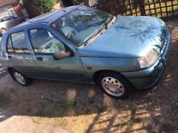 RENAULT CLIO 1.4 LOW MILES * NOW REDUCED * LOTS OF WORK DONE