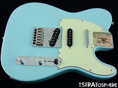 LOADED 2020 Fender Deluxe Nashville Telecaster Tele BODY Noiseless Daphne Blue