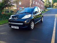 2009 Peugeot 107 Facelift only £20 Tax 5 door 2 keys