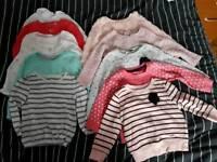 Girls 12-18 months Large Winter Bundle (75 items)