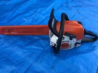 STIHL MS211 CHAINSAW 2014