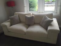 3 Seater Sofa & Cuddle Chair - *Like New*