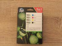Genuine HP printer inks 950/951 XL
